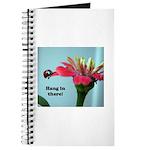 Ladybug on Zinnia Journal