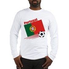 Portugal Soccer Team Long Sleeve T-Shirt