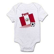 Peru Soccer Team Infant Bodysuit