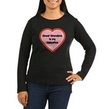Great Grandma is My Valentine T-Shirt