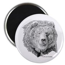 """Grizzly Bear 2.25"""" Magnet (100 pack)"""