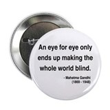 "Gandhi 3 2.25"" Button (10 pack)"