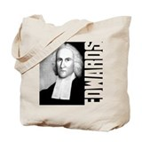 Jonathan Edwards Tote Bag