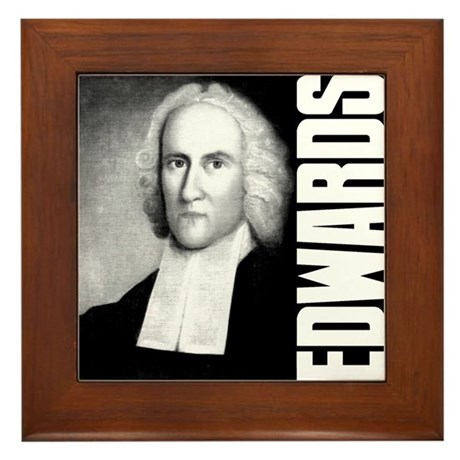 Jonathan Edwards Framed Tile
