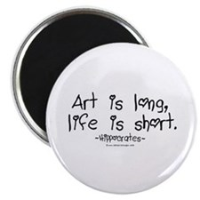 "Art & Life 2.25"" Magnet (100 pack)"