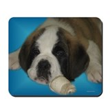 Saint Puppy Mousepad