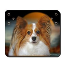 Papillon Dog Mousepad