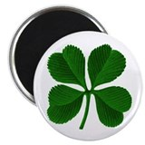 "Lucky Four Leaf Clover 2.25"" Magnet (10 pack)"