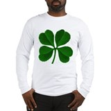Lucky Four Leaf Clover Long Sleeve T-Shirt