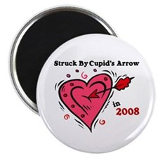 Struck By Cupid's Arrow 1 (2008) Magnet