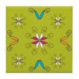 Embellish Green:Tile Coaster