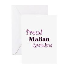 Proud Malian Grandma Greeting Card