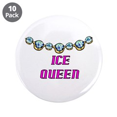 """Ice 3.5"""" Button (10 pack)"""