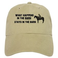 What happens in the barn Baseball Cap