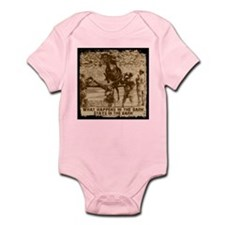 Jumper, stays in the barn. Infant Bodysuit