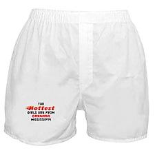 Hot Girls: Grenada, MS Boxer Shorts