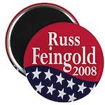 Russ Feingold for President in 2008 Magnet