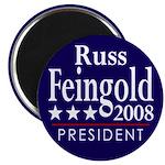 Russ Feingold for President in 2008 (Magnet)