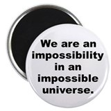 "Unique Bradbury quote 2.25"" Magnet (10 pack)"