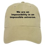 Bradbury quote Baseball Cap