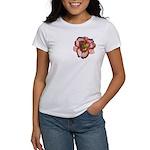 Red Ruffled Daylily Women's T-Shirt