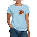 Red Ruffled Daylily Women's Light T-Shirt