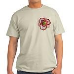 Red Ruffled Daylily Light T-Shirt