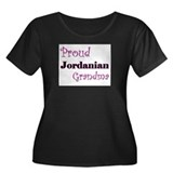 Proud Jordanian Grandma Women's Plus Size Scoop Ne