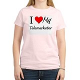 I Heart My Telemarketer T-Shirt