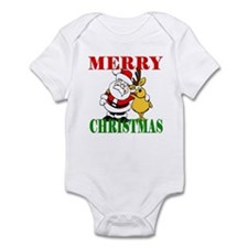 Merry Chirstmas Infant Bodysuit