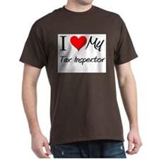 I Heart My Tax Inspector T-Shirt