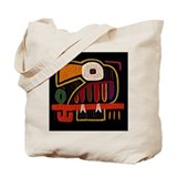 Indigenous Bird Art Print Tote Bag