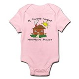 Favorite Hangout MeeMaw's Hou Infant Bodysuit