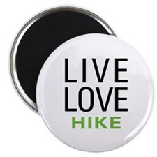 Live Love Hike Magnet