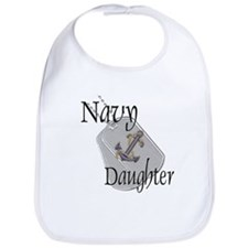 Anchor Navy Daughter Bib
