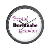 Proud Burkinabe Grandma Wall Clock