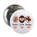 Peace Love Cowboy Rodeo Horse 2.25