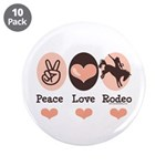 Peace Love Cowboy Rodeo Horse 3.5