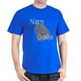 Anchor Navy Grandpa T-Shirt