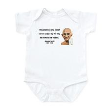 Gandhi 10 Infant Bodysuit