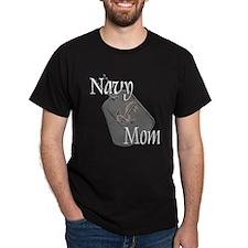 Anchor Navy Mom T-Shirt