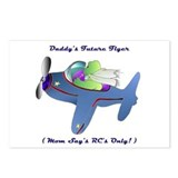 Daddy's Future Flyer Postcards (Package of 8)