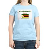 #1 Zimbabwean Mom T-Shirt