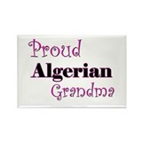 Proud Algerian Grandma Rectangle Magnet