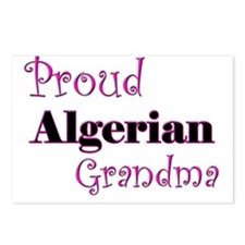 Proud Algerian Grandma Postcards (Package of 8)