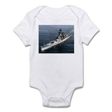 USS Missouri Ship's Image Infant Bodysuit