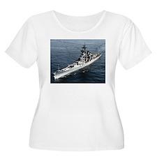USS Missouri Ship's Image T-Shirt