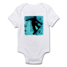 Snowboarding Infant Bodysuit
