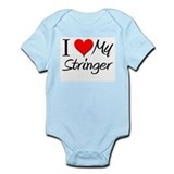 I Heart My Stringer Infant Bodysuit