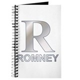 Silver R for Mitt Romney Journal